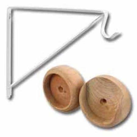 Picture for category Closet Pole Sockets & Shelf Brackets