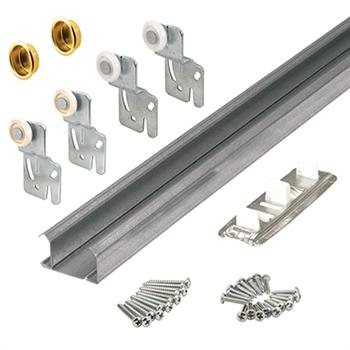 Picture Of 161791 48 Inch Bi P Closet Door Track And Hardware For 2
