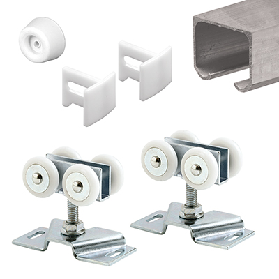 """Picture of 162804 - Sliding Track Kit, 72"""", Extruded Aluminum, Non-Handed"""