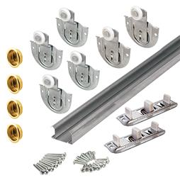 Picture of 163625 - 96 inch Bi-Pass Closet Door  Track  and Hardware for 3 doors, 1 kit per carton