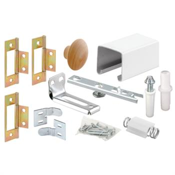 164684 Bi Fold Door Track Kit 24 Inches 2 Door Design