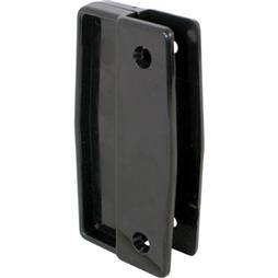 Picture of A 111 - Sliding screen door universal handles, black plastic, Surface mounted, 2 per pkg.