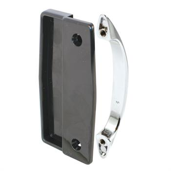 Picture of A 112 - Sliding screen door black inside handle, chrome diecast outside handle, 1 per pkg.