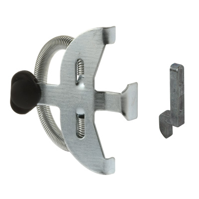Picture of A 119 - Sliding screen door T-Bird style latch for the A 139, stamped Steel, 1 per pkg