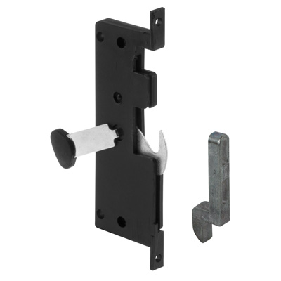 Picture of A 121 - Sliding screen door Internal or mortise latch, lever  & keeper;,  1 set per pkg.