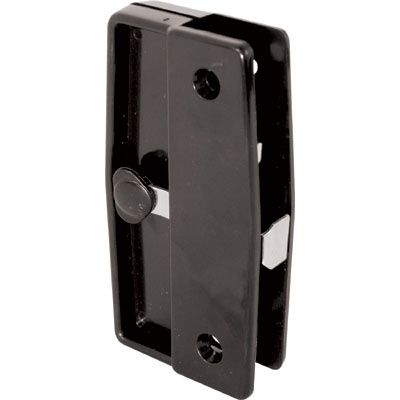 Picture of A 139 - Sliding screen door inside & outside handles and latch, black plastic, 1 set per pkg.