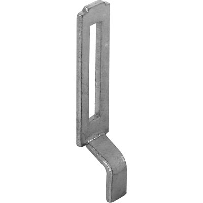 Picture of A 148 - Sliding screen door keeper, stamped steel, adjustment slot,  2 per pkg.