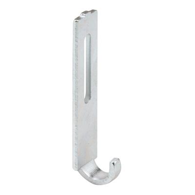 Picture of A 159 - Sliding screen door keeper, stamped steel, adjustment slot,  2 per pkg.