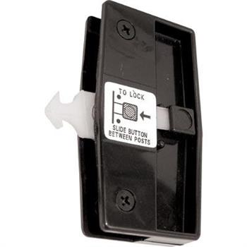 A 165 Sliding Screen Door Handle Amp Latch Black Plastic