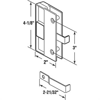 International Door Closers Dorma Rts88 Kit 02 Center Hung Side Load Aluminum Door And Frame  plete Overhead Closer as well Exterior Door Frames Double Doors together with P 7503 Rolling Tool Plastic Convex Concave Rollers furthermore Pl 15573 Bottom Latch Only 716 Aluminum Gray 25 Each moreover Brio Weather Fold 4s Inward Opening External Bi Folding Doors 3 1 System. on exterior security doors for home
