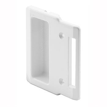 A 208 Sliding Screen Door White Plastic Inside Handle