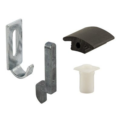 A 236   Sliding Screen Door Latch Strike U0026 Keeper Replacement Kit