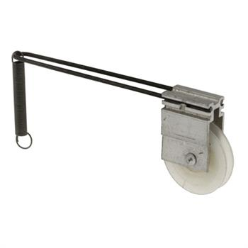 Picture of B 519 - Screen door roller assembly with 15/16 inch high density polyethlene roller, Wire bracket, 2 per pkg.