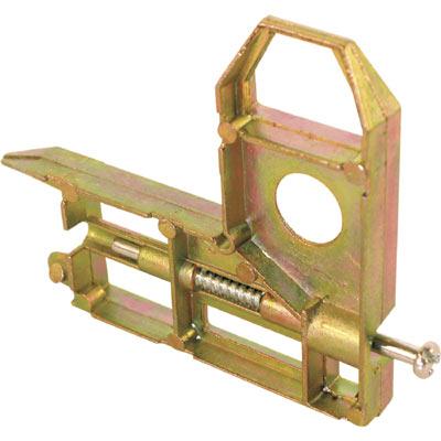 Picture of B 569 - Sliding screen door diecast  corner Arcadia style rollers, 2 per pkg.