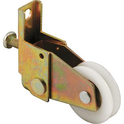 Picture of B 605 - Sliding screen door spring loaded roller, high density polyethlene ball bearing roller, 2 per pkg.
