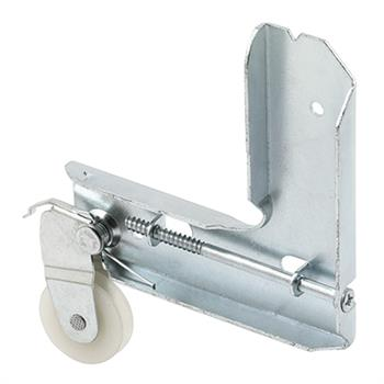 Picture of B 607 - Sliding screen door stamped  aluminum corner with high density polyethlene roller, 1 per pkg.
