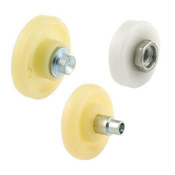 Picture of B 622 - Sliding screen door roller  assortment kit, 3 sizes & styles, 3 pair per pkg.