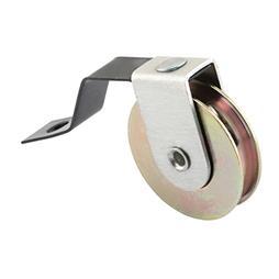 Picture of B 639 - Sliding screen door V shaped tension spring roller, 1 inch steel roller, 2 per pkg.