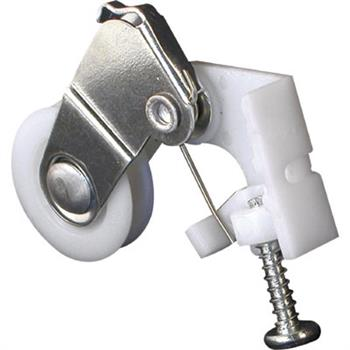 Picture of B 647 - Sliding screen door roller, high density polyethlene housing, high density polyethlene roller, 2 per pkg.