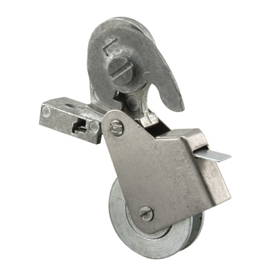 Picture of B 663 - Sliding screen door roller, steel housing, Steel Ball Bearing roller, 2 per pkg.