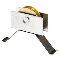 Picture of B 678 - Sliding screen door Flat Tension Spring, Center mount steel roller, 2 per pkg.