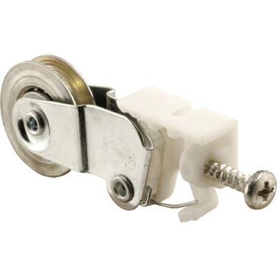Picture of B 682 - Sliding screen door roller, high density polyethlene housing, 1 inch steel roller, 2 per pkg.