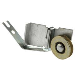 Picture of B 689 - Screen door Rocker style Spring Tension roller, 1 inch steel roller, 2 per pkg.