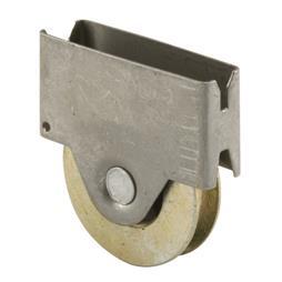 Picture of B 696 - Sliding screen door roller, steel  ball bearing roller, Fits Columbia, 2 per pkg.
