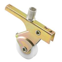 Picture of B 701 - Sliding screen door roller, Spring Loaded, 1 inch high density polyethlene roller, 2 per pkg.