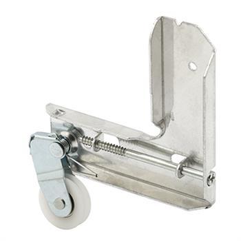 Picture of B 724 - Sliding screen door stamped  aluminum corner, high density polyethlene ball bearing roller, 1 per pkg.