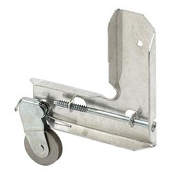 Picture of B 748 - Sliding screen door stamped  steel corner with stainless steel roller, 1 per pkg.