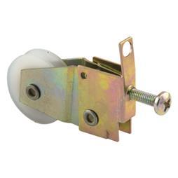 Picture of B 777 - Sliding screen door spring loaded roller, high density polyethlene ball bearing roller, 2 per pkg.