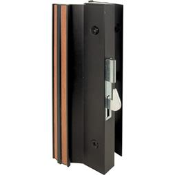 Picture of C 1001 - Patio Door Surface with Hook Latch, Extruded, Black Finish, Keeper, 1 per pkg.