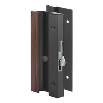 Picture of C 1007 - Patio Door Surface with Hook  Latch, Low Profile, Extruded, Black Finish, 1 per pkg.