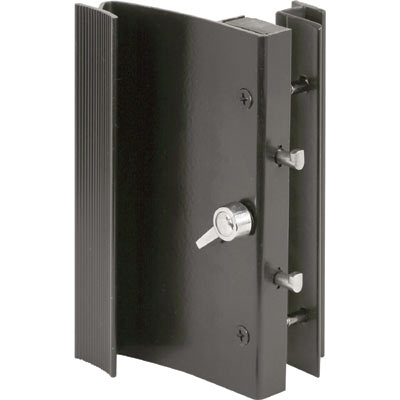 Picture of C 1015 - Patio Door Surface with Dual Hook latch, diecast, Ador HiLite, Keeper, 1 per pkg.