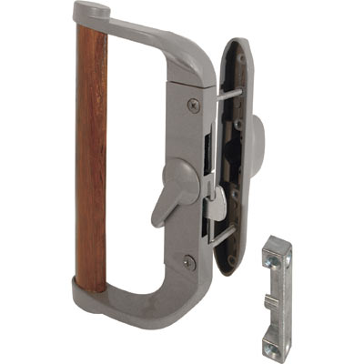 Picture of C 1016 - Patio Door Surface with Hook  Latch, Diecast body, Wood Handle, Keeper, 1 per pkg.