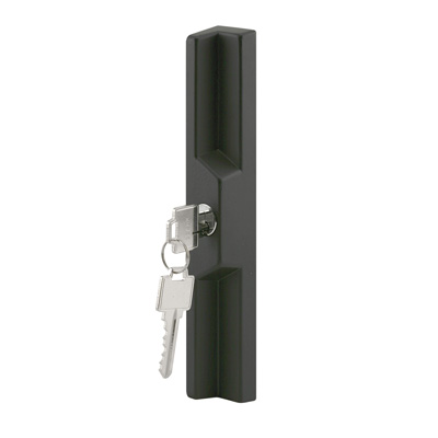 Picture of C 1041 - Sliding Patio Door locking Outside Pull, Diecast, Black, Pack of 1