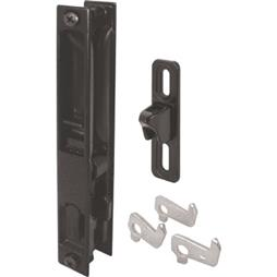 Picture of C 1043 - Patio Door Flush Handle with Latch assortment, Black, Night Lock, 1 per pkg.