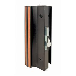 Picture of C 1071 - Patio Door Surface with Hook  Latch, Extruded, Black Finish, Keeper, 1 per pkg.