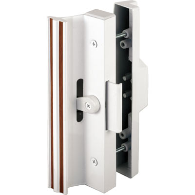 Picture of C 1116 - Patio Door Surface with Clamp  Latch, White, Extruded Aluminum, 1 per pkg.