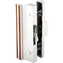 Picture of C 1118 - Patio Door Surface with Hook  Latch, Extruded, White Finish, Keeper, 1 per pkg.