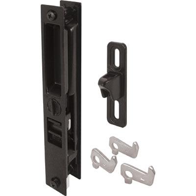 Picture of C 1123 - Patio Door Flush Handle with Mid-Body latch,4 hook assortment, Night Lock, 1 per pkg.