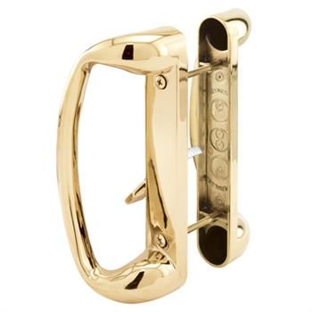 Picture of C 1174 - Patio door Mortise Style handle,  Brass Diecast inside & outside handles, 1 per pkg.