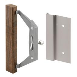 Picture of C 1186 - Patio Door Internal style door  handle, Aluminum, 3-1/2 inch hole centers, 1 per pkg.