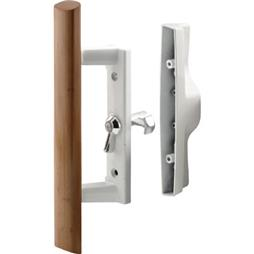 Picture of C 1194 - Patio Door Internal style door  handle, White, 3-1/2 inch hole centers, 1 per pkg.