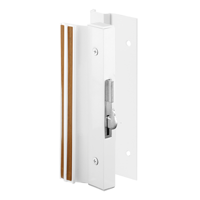 Picture of C 1203 - Patio Door Surface with Hook  Latch, Extruded, White Finish, Keeper, 1 per pkg.