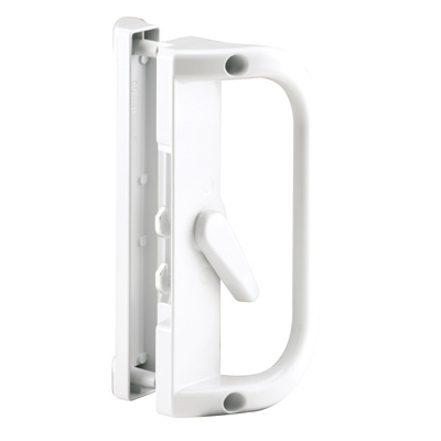 Picture of C 1221 - Patio Door Surface with Dual Hook latch, diecast, Canadian, Keeper, 1 per pkg.