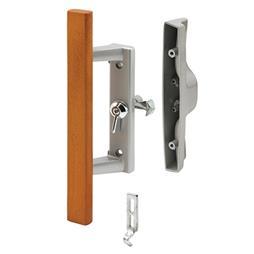 Picture of C 1258 - Patio Door Internal style door  handle, Gray, For 1-3/4 inch thick doors, 1 per pkg.