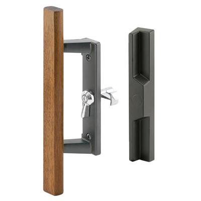 Picture of C 1260 - Patio Door Internal style door  handle, Black, Fits 1-3/4 inch thick door, 1 per pkg.