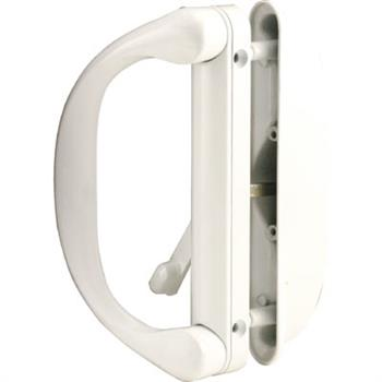 C 1275 Patio Door Mortise Style Handle White Roto